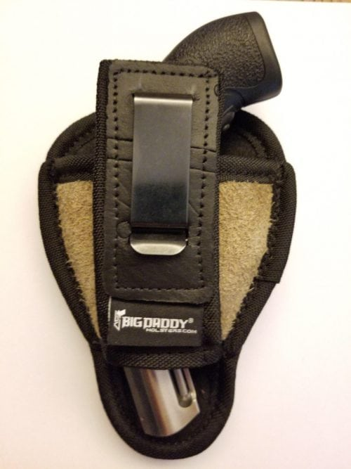 leather holster for revolvers